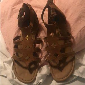 Sandals (never worn)